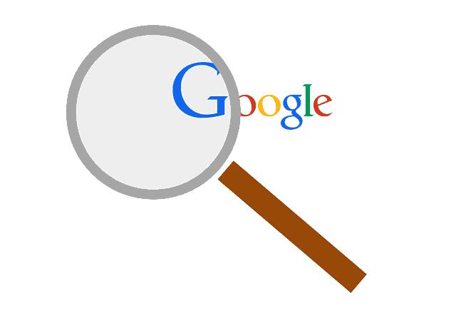 גוגל עם זכוכית מגדלת
